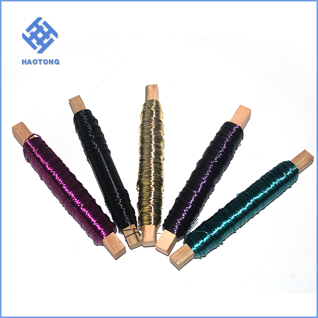 Factory price jewelry copper wire for making necklace bead jewelry decoration wire for christmas