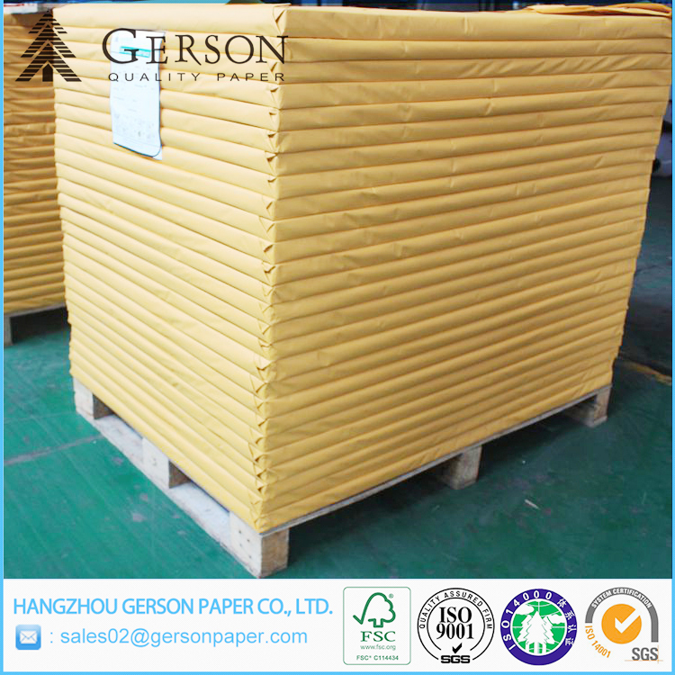 Stocklot Duplex Board Paper Price / Ningbo FBB Duplex Board With Mixed Pulp