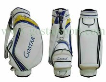 Durable PU Custom Golf Staff Bag