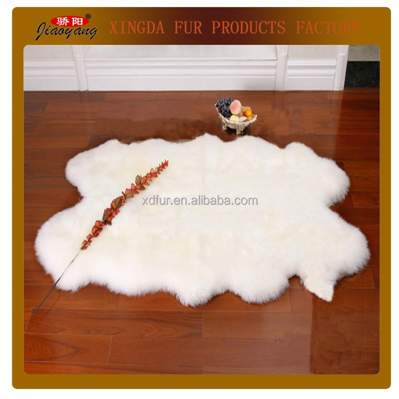 long wool sheepskin rug,lamb fur carpet,long hair wool carpet and rug with many colors