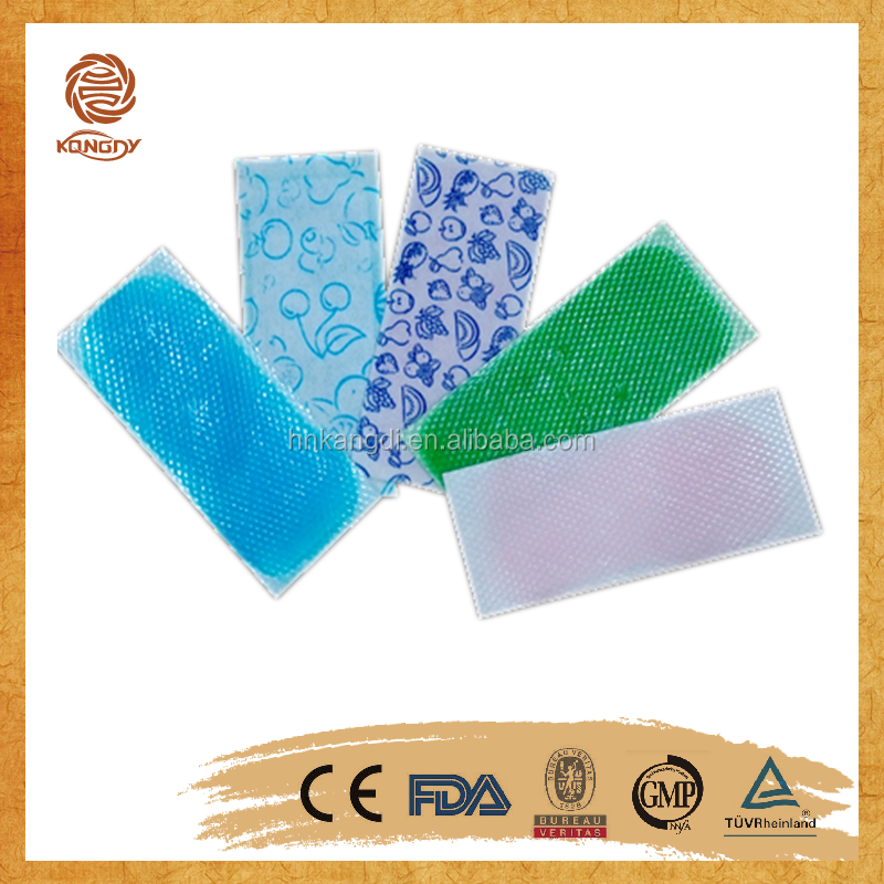 orignal equipment manufacturer medical fever reducing cooling gel pad for body
