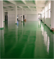 Various color Anti Chemicals Skid Resistant Epoxy Floor Coatings