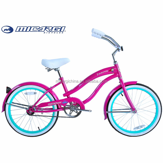 Micargi 20 inch colorful beach cruiser children bike FAMOUS kids bicycle