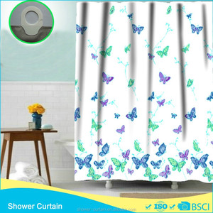 Fashion Shower Curtain anime Butterfly home goods curtains