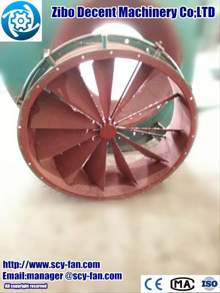 all components pained Gas Exhauster fans(mine fan)