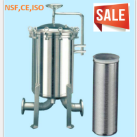 Excellent stainless steel multi-cartridge filter housing, SS Bag Filter with cheap price