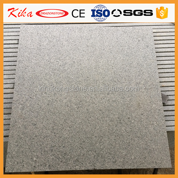 Best quality China Chiselled finishing dark grey G654 granite tiles