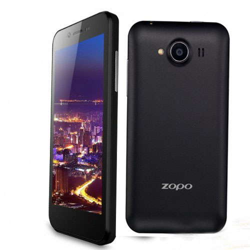ZOPO ZP600+ Infinity Smartphone Naked Eye 3D MTK6582 Quad Core Android 4.2 3G WCDMA 850/900/2100MHz- Black