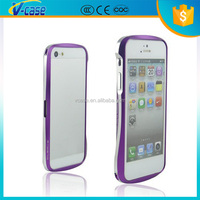 Direct distributor Aluminum Hybrid Bumper Phone Case For Iphone 5