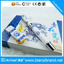China factory with Chinese style gift usb flash drive in case usb flash drive with pen set