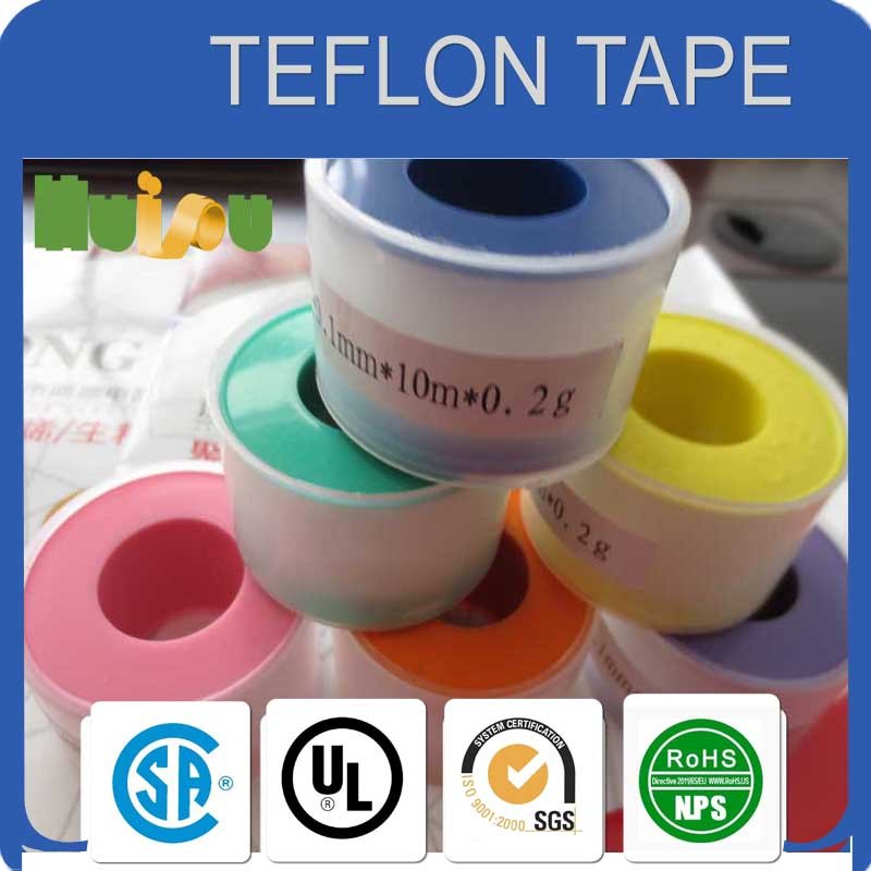 12mmx19m PTFE THREAD SEAL TAPE(caflon) 100% pipe tape for water gas oil plumbing