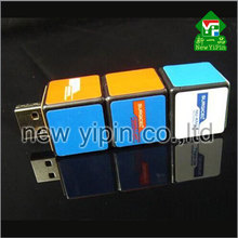 Special business gifts U disk USB flash drives three character Rubik's cube USB flash drive Individual cube U disc