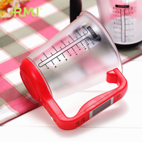 new electronic shenzhen technology digital plastic measuring kitchen cup with low price