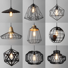 home lighting loft pendant hanging light Nordic vintage Industrial loft art deco lamp