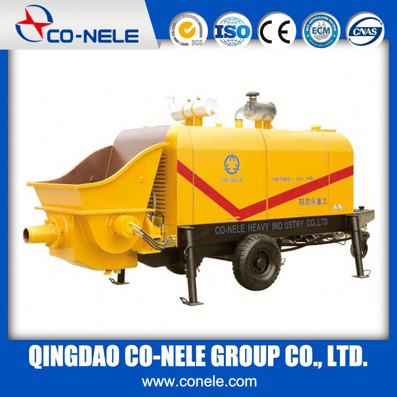 DHBT40 Electric Stationary Concrete Trailer Pump Hbt Series