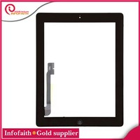 Factory price For Apple iPad 5 Touch Screen Replacement color Black and White