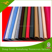 China factory Colorful 100% polyester needle punched nonwoven fabric felt