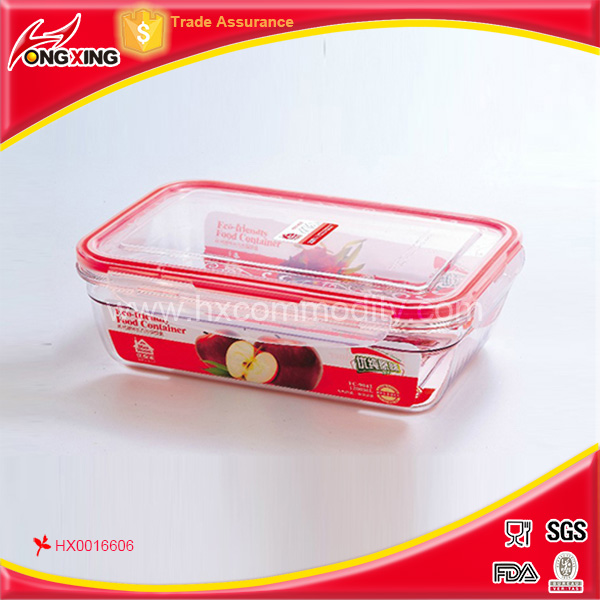 920ml food crisper containerr for fresh food seal box