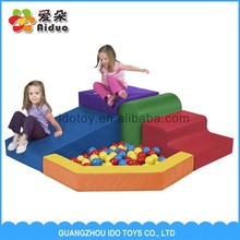High quality and Low price indoor soft children playsets