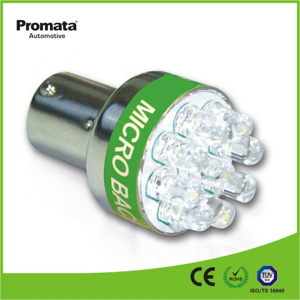P21W BA15S 1156 car led lighting with beep alarm