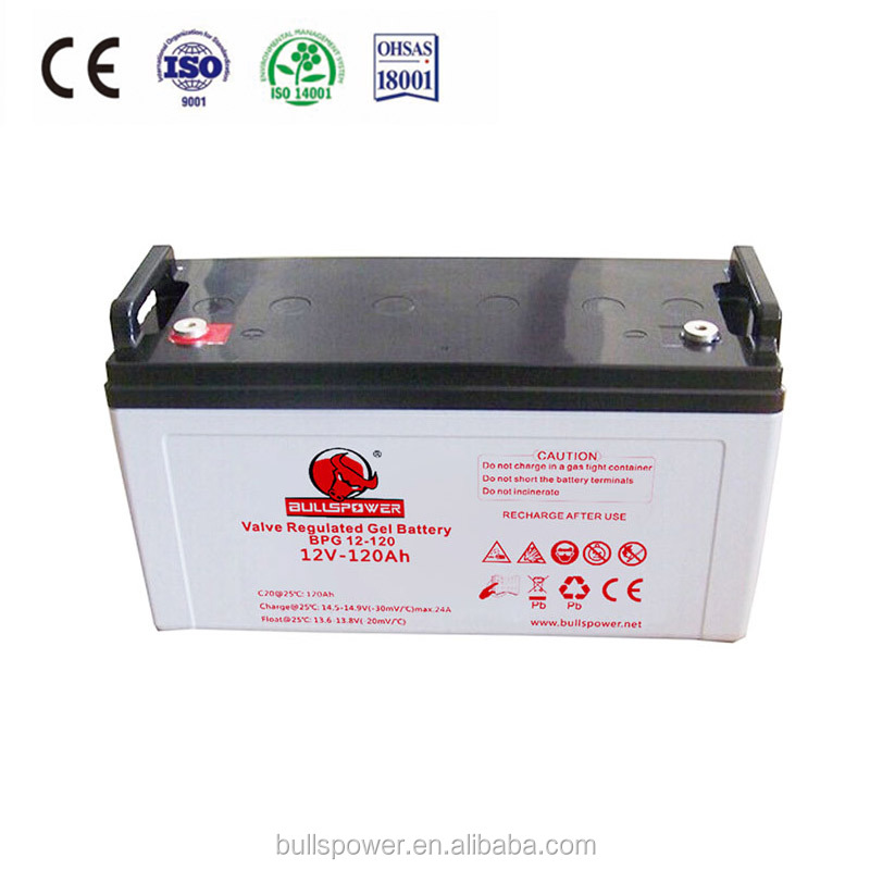 solar gel 24V 100ah 12V 120AH VRLA battery for store electricity