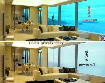 TENA 14.5mm Switchable Pdlc Privacy Smart glass