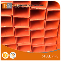 TSX-GP1671641 75x75mm Oiled Black Square Hollow Section Steel Tube Weight / Iron Pipe Sizes