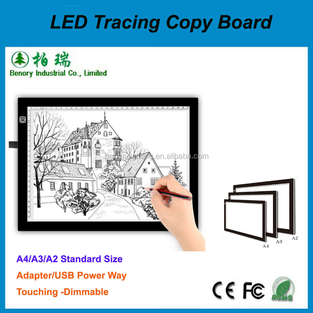high quality led drawing table tracing light table