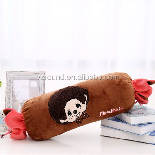 Pillow brown candy shape toy cushion