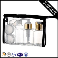 China new design popular small travel cosmetic bottle set WK-T-7