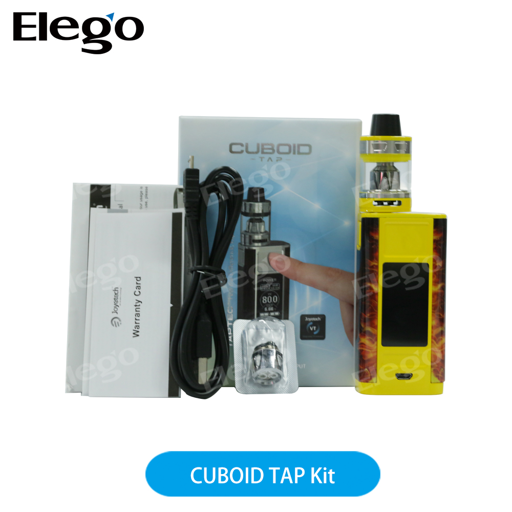 2017 Elego First Batch 100% Original Joyetech CUBOID TAP Kit in Large Stock with Wholesale Price