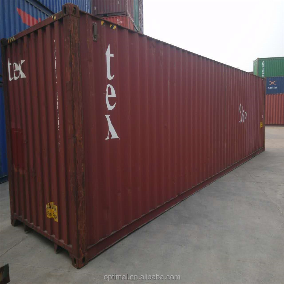hot sale scrapped 40ft high cube container for transport