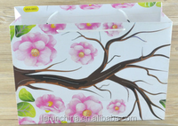 Factory making paper gift bag solid color printing with your own logo hot sale on alibaba website