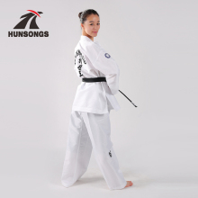 Custom professional martial arts clothing ITF taekwondo uniform/taekwondo uniform poomsae uniform