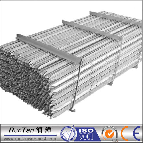 Factory metal fence posts (SInce 1989,ISO9001)