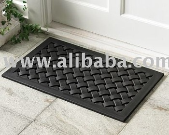 BRAIDED RUBBER MAT