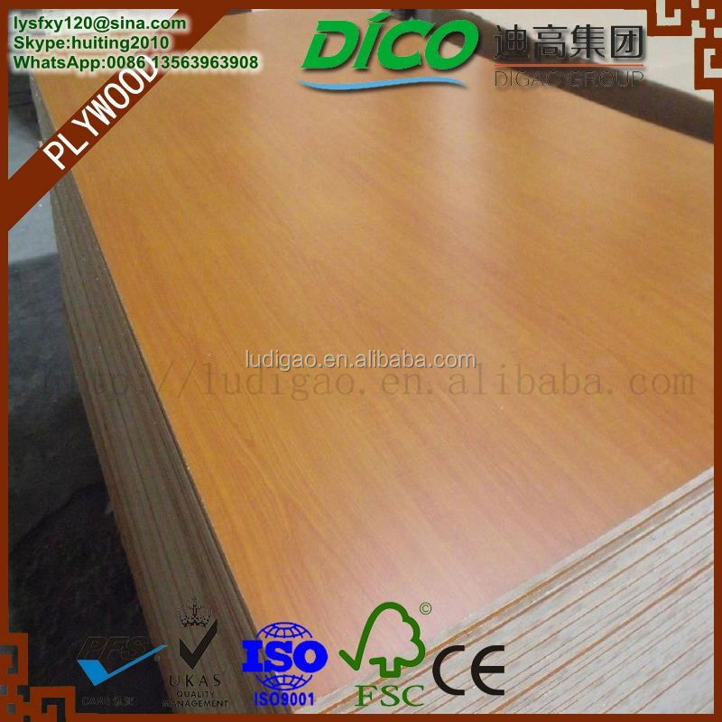 Medium Density Fiberboard Low Price 1220x2440mm 1830x2440mm Melamine Coated MDF Board