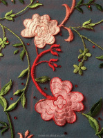 NORMAL HAND EMBROIDERY FLOWER DESIGN LATEST GIRLS DRESSES