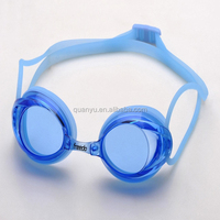 2012 new high quality silicone swimming goggles racing