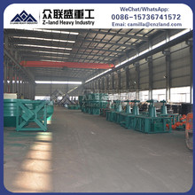 Sudan high efficiency three rollers edge runner wet pan mill