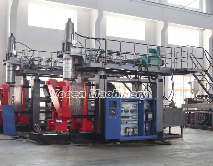 Small plastic blowing machine low cost,Kooen automatic plastic injection moulding