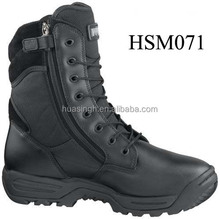 Combat mission 8 inch tactical sport side zipper military operation men' boots