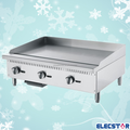Gas Griddle(Counter-top), Commercial Stainless Steel flat plate Gas grill For Restaurant, HOT SALE