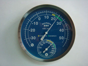 YL- Indoor and Outdoor Bimetal Themormeter/Hygrometer