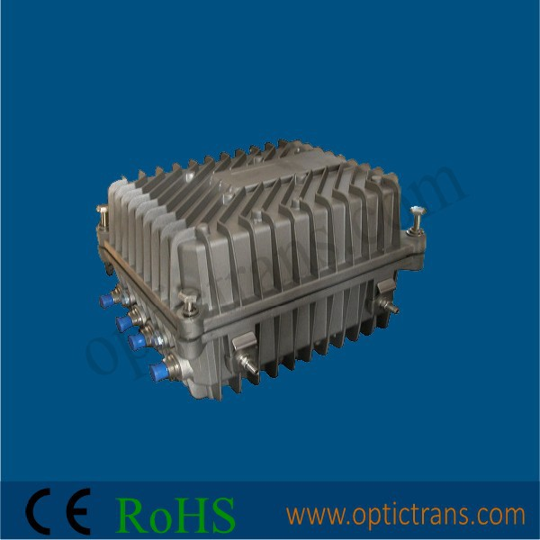 Outdoor CATV Fiber Optical Node/HFC Optic Receiver (AGC/SNMP Support/4RF)