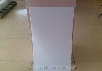 Opal White led light diffuser sheet for decorative illumination