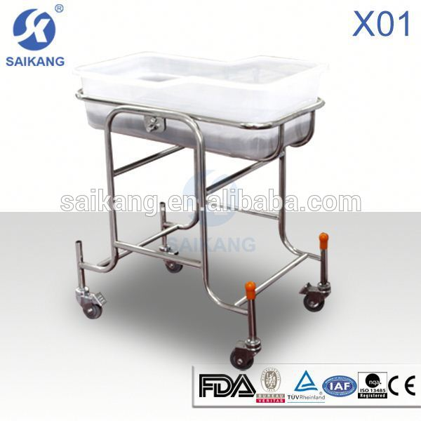 Adjustable hospital baby bassinet With CE FDA ISO SGS