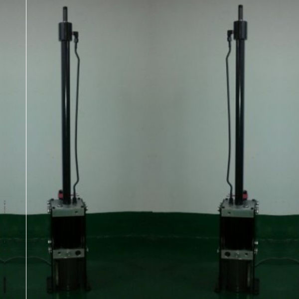 Full automatic stainless steel hydraulic rising bollard for sale