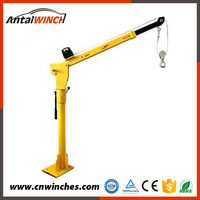 own R&D department electric pickup truck crane