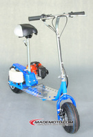 China Supplier 43cc Foldable Mini Tank Motor Scooter For Sale